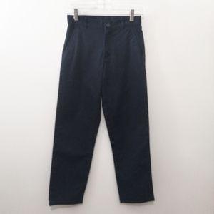 Dockers Boy's Navy Dress/Uniform Pants 14 Slim